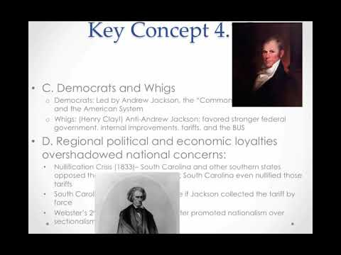 APUSH Review: Key Concept 4.1, revised 2015 (most up-to-date version)