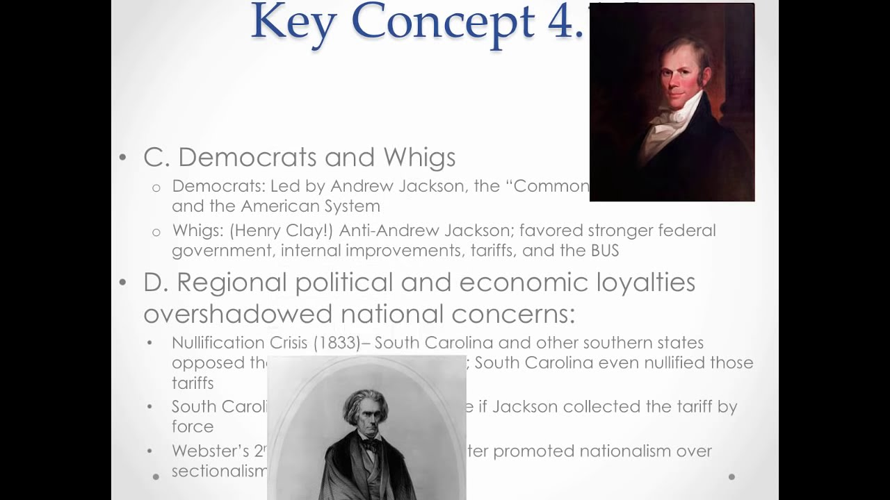 APUSH Review: Key Concept 4.1, revised 2015 (most up-to