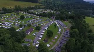 Faskally Caravan Park & woods