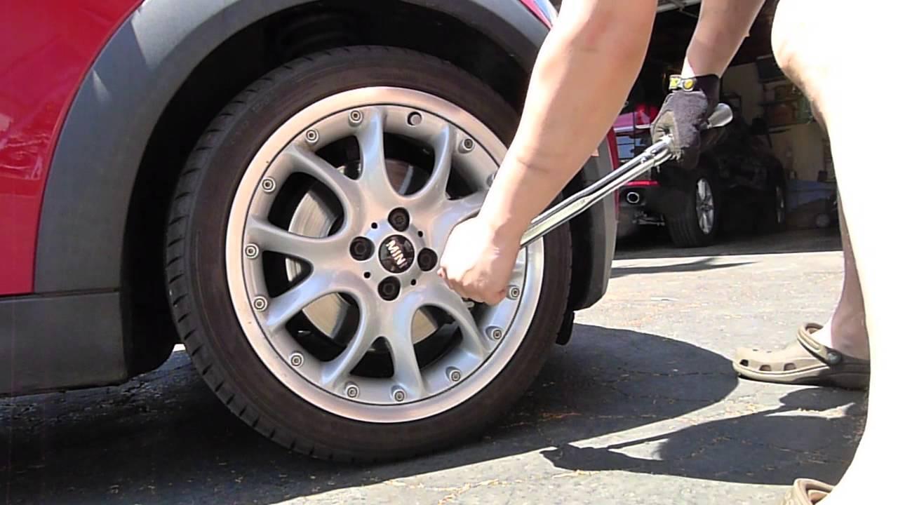 Mini Cooper Tires >> R56 Mini Cooper S Rotate Tires 00003