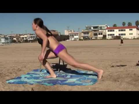 Girls Sexy Bikini Body Fitness Butt, Legs, Abs