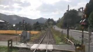ドラゴンレール大船渡線 【前面展望 8】 竹駒⇒陸前矢作 thumbnail