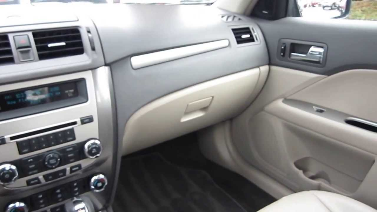 Elegant 2010 Ford Fusion, Black   STOCK# 33421B   Interior   YouTube Design Ideas