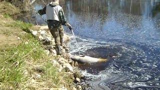Вот и так на рыбалке бывает!!!