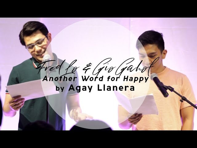 #AprilFeelsDay2017 - LIVE - Another Word for Happy by Agay Llanera - Fred Lo + Gio Gahol