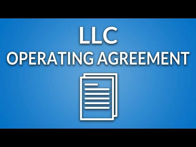 Maryland Llc Free Operating Agreement Template Instructions
