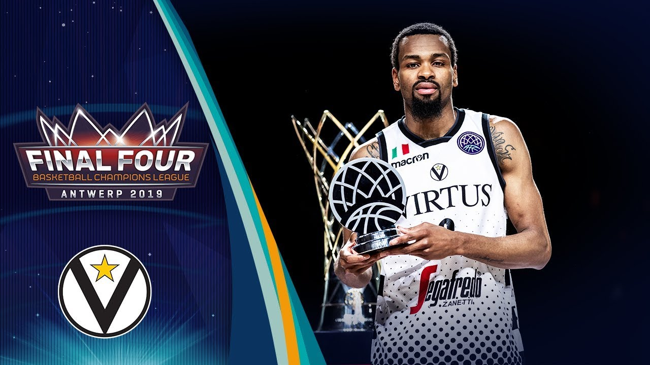Final Four MVP, Kevin Punter (26 PTS, 7 REB) led Segafredo Virtus Bologna to the BCL 2018