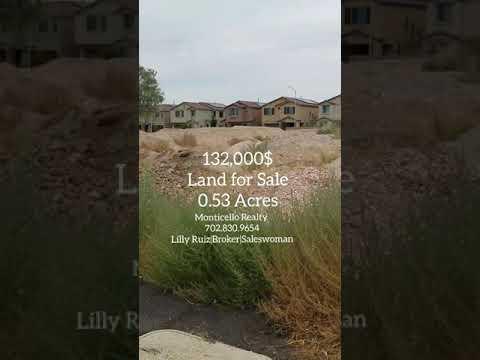 Land for sale North Las Vegas