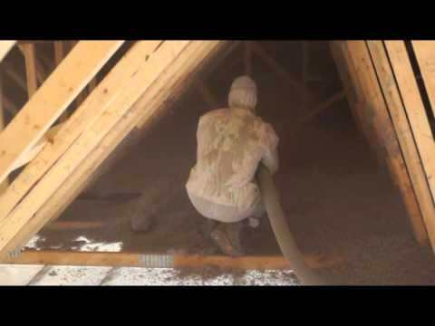 Attic insulation blown in or loose fill attic insulation youtube attic insulation blown in or loose fill attic insulation solutioingenieria Choice Image