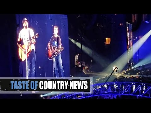 Luke Bryan Lets Teen Cancer Survivor Star at Concert In Dallas