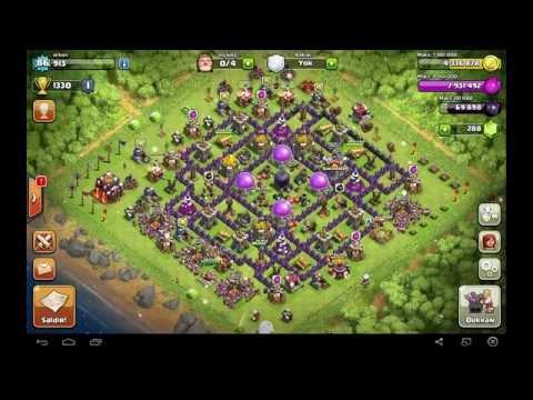 Clash Of Clans Süper Etkili Saldırı Taktiği Barbar Ve Okçu