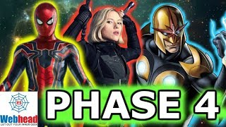 MCU Phase 4 Release Dates Announced and Predictions! | Webhead
