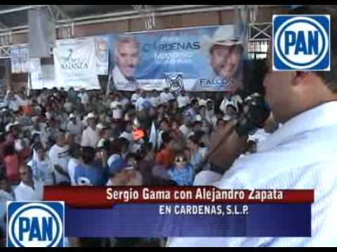SERGIO GAMA CON ALEJANDRO ZAPATA EN CARDENAS