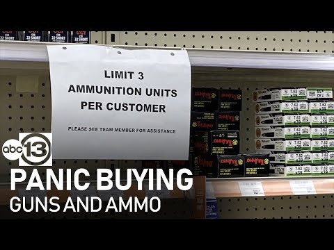 Guns and ammunition sales soar amid coronavirus panic buying