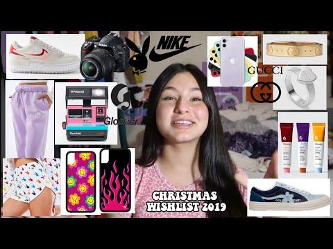 CHRISTMAS WISHLIST/ TEEN GIFT GUIDE 2019