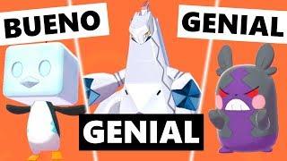 Los MEJORES y PEORES diseños en Pokémon Espada y Escudo Parte 7   EBaru