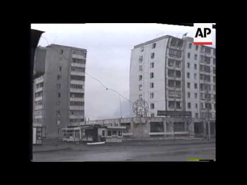 RUSSIA: CHECHNYA: RUSSIANS BOMB MOUNTAIN VILLAGES