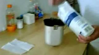 White Bread cooking / Хлебопечка - Белый хлеб