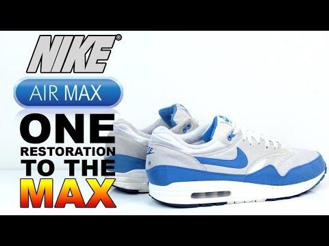 Nike Air Max 1 Royal Restoration to the Max!