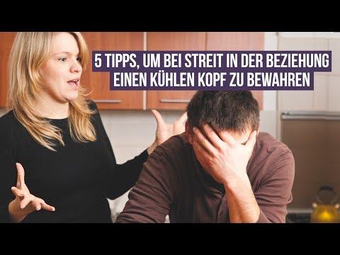 5 Tipps, um bei Streit in der Beziehung einen kühlen Kopf zu bewahren