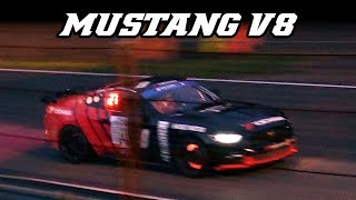 Extremely loud FORD MUSTANG V8 (24h of Zolder 2017)