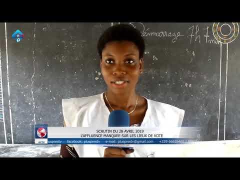 PPTV/Webtv/Bénin : SCRUTIN DU 28 AVRIL 2019   L'AFFLUENCE MANQUEE SUR LES LIEUX DE VOTE