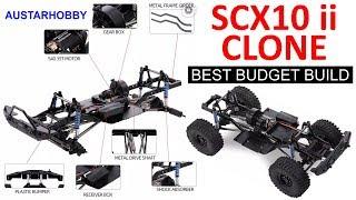 UNBOXING AUSTAR KIT SCX10 II PART 1 BUILD SCX10 II CLONE