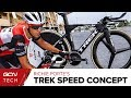 Ritchie Porte's Trek Speed Concept Time Trial Bike