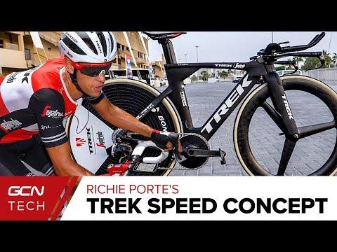Ritchie Porte's Trek Speed Concept Time Trial Bike
