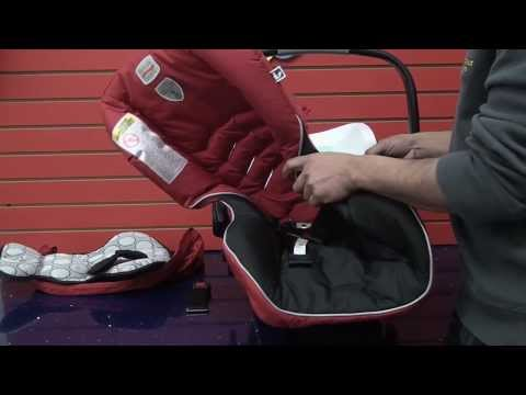 Britax B-Safe: Cleaning Car Seat (part 1)