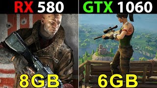 RX 580 Vs. GTX 1060 | Core i5-8400 | 12 Games Tested