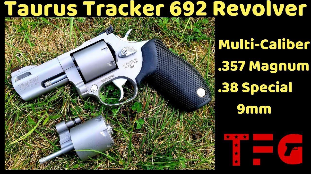 Taurus 692 Multi-Caliber Revolver (NEW 2019) - TheFirearmGuy