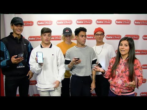 PRETTYMUCH Phone Scavenger Hunt | Radio Disney