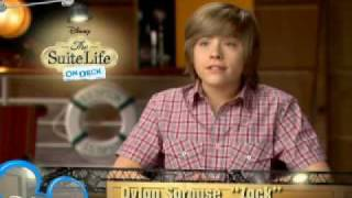 The Suite Life on Deck - On Set with Dylan and Cole Sprouse | Official Disney Channel UK
