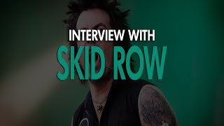 SKID ROW | Interview - Gothenburg, Sweden 13.11.13