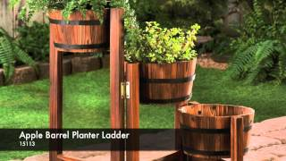 15113 - Apple Barrel Planter Ladder