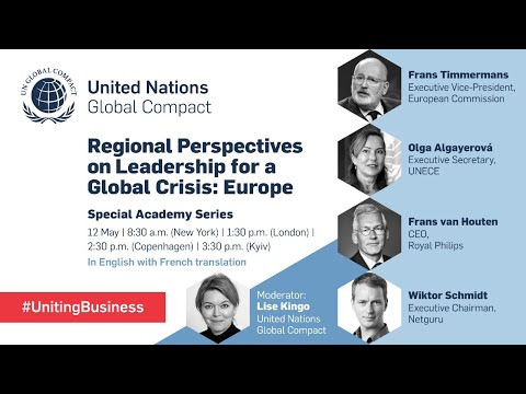 Perspectives from Europe on Leadership in a Global Crisis
