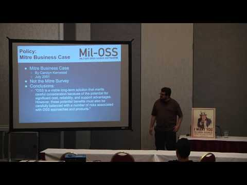 2013 SouthEast LinuxFest - Winston Messer - Mil-OSS - Military Open Source Software