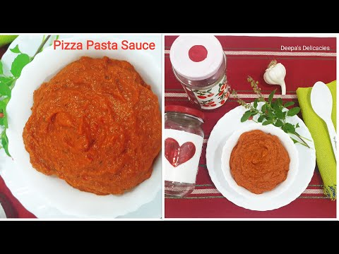 DOMINO'S PIZZA PASTA SAUCE | DOMINOS ,PIZZA HUT STYLE SECRET PIZZA SAUCE RECIPE | Home made Marinara