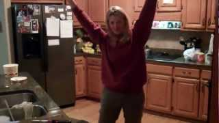 Peyton Manning Audible...reenacted by Mom!