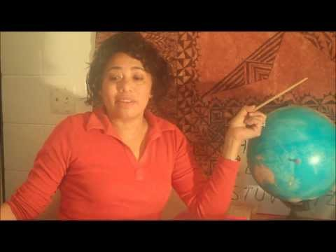 Tenisia teaching Tongan language Lesson 1   How to learn Tongan, German, Spanish, Japanese etc