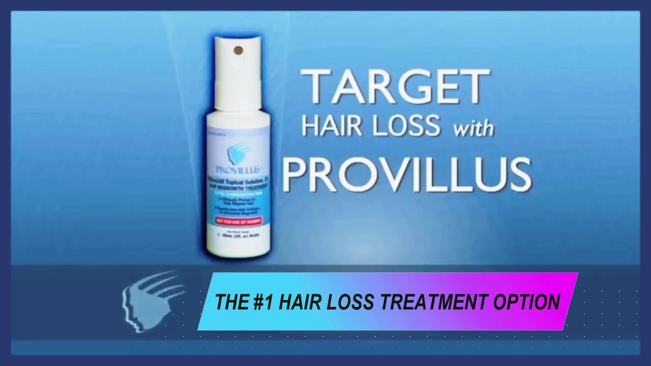 Provillus Hair Loss Treatment Reviews Youtube