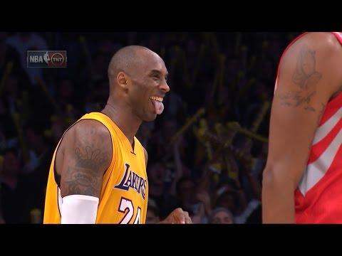 Kobe Bryant 22 Points (Nasty dunk over Capela) vs Houston Rockets - Full Highlights 17/12/2015