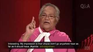 "QandA: Rosalie Kunoth-Monks: ""I am not the problem"" speech for John Pilger"