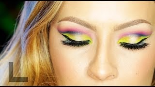 URBAN DECAY: ELECTRIC PALETTE MAKEUP LOOK