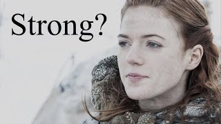 Ygritte from Game of Thrones - how strong is she really?