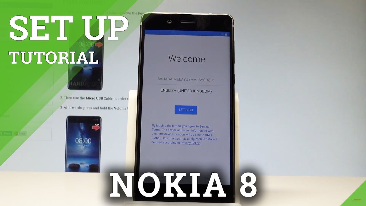 How to Activate NOKIA 8 - Initialization Setup Process |HardReset Info