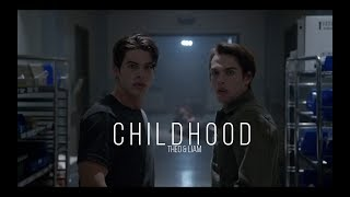 childhood | theo & liam