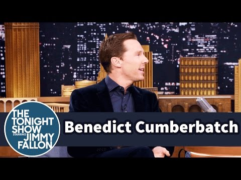 Benedict Cumberbatch's First Kiss Was Underwater
