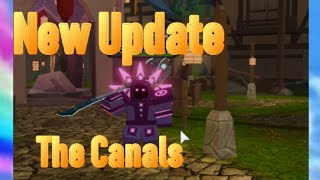 Roblox Dungeon Quest | New Update Map The Canals |